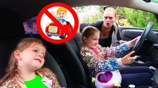 We are in the car Kids Song | Wheels on the bus | Nursery Rhymes from Sara and Sofia