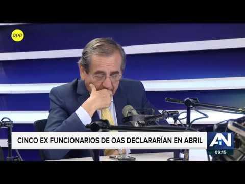 """Jorge del Castillo: """"No he cobrado gastos de representación por hacer una entrevista""""."""