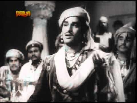 SHAMA PARWAANA (1954)-SAR-E MEHFIL JO JALA -RAFI ,SURAIYYA -MAJROOH-HUSNLAL BHAGATRAM