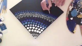 Dot Art & Exciting News! // Cameron