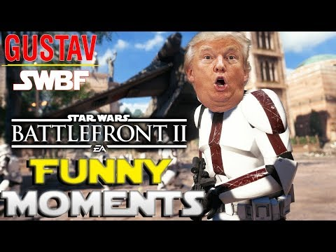 STAR WARS BATTLEFRONT 2 - FORCE EXTRAVAGANZA - FUNNY MOMENTS #1