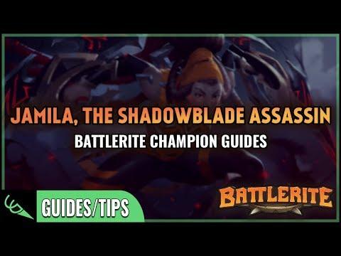Jamila Guide - Detailed Champion Guides | Battlerite