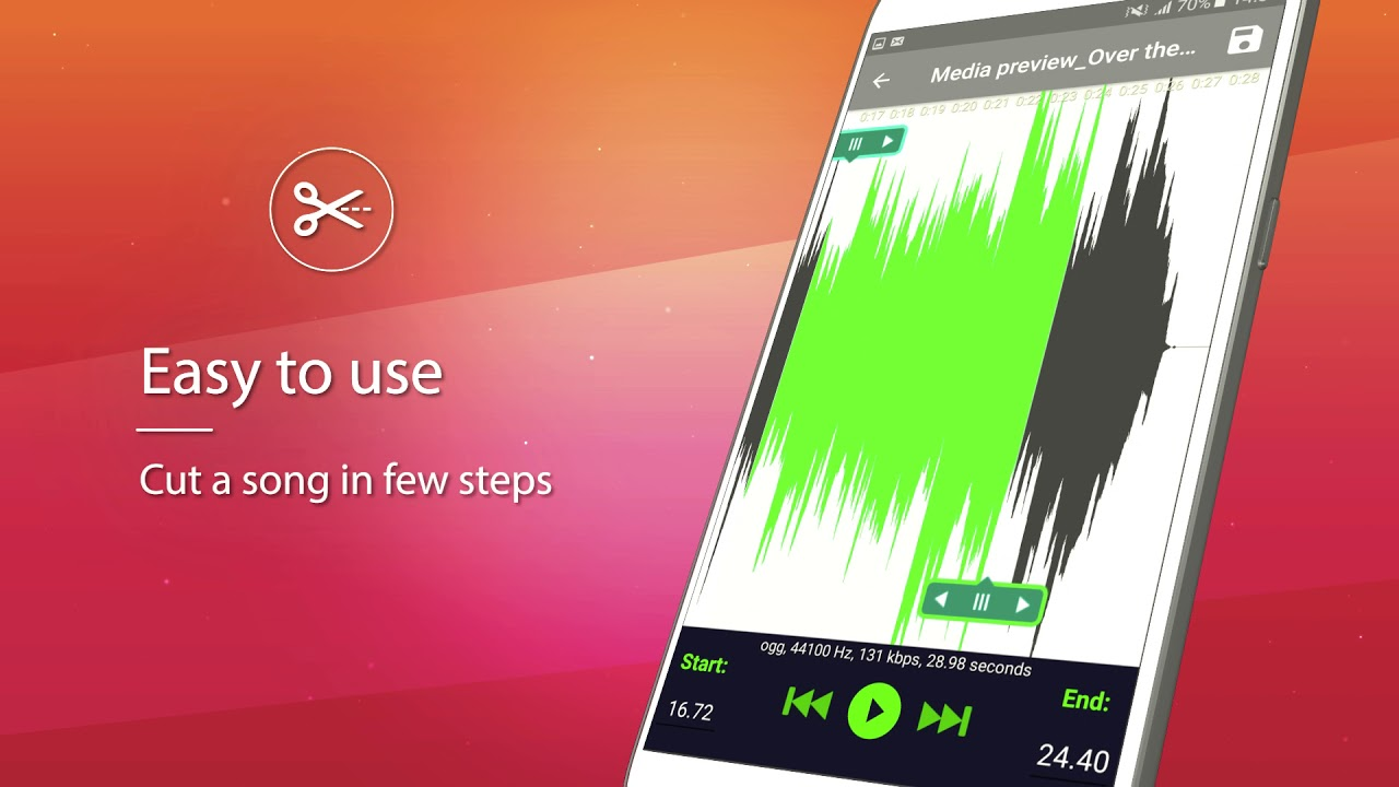 Android Ringtone Maker Music Mp3 Cutter Editor Youtube