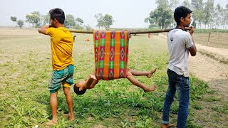 Whatapps Funny Videos_Funny Village Boys 2018_Try To Stop Laughing_Pagla BaBa