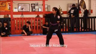 Exam(en) 16 Dec. 2018 Jaquez Karate Academy