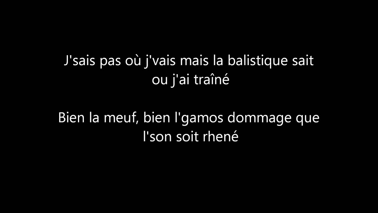 la fouine : jalousie paroles - YouTube