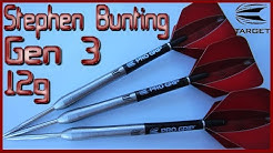 Target Stephen Bunting Gen 3 Darts Review - 12 GRAMS!!