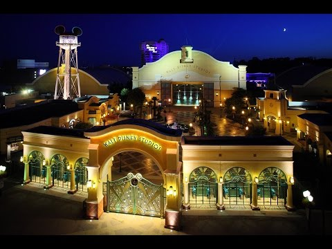 Walt Disney Studios Paris Nighttime Music Loop - DisneyAvenue.com