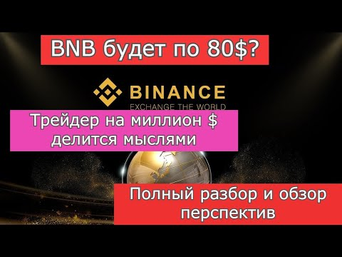 BNB Обзор. Binance Coin Полный обзор и разбор перспектив.