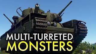 Multi-turreted Tanks / War Thunder
