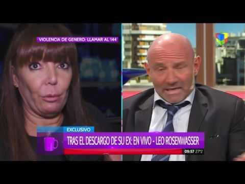 Leo Rosenwasser se defiende: Jamás toqué a mi mujer, no soy un golpeador