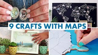 9 Things You Can Make With Maps - Hgtv Handmade