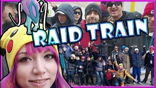 SUICUNE RAID TRAIN VETERAN'S DAY with POKEMON GO!