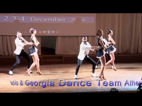 2nd Bailatino Dance Festival Ioannina Pablo & Georgia Dance Team Athens