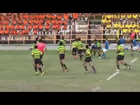 Rugby U15 ระหว่าง ภปร ราชวิทยาลัย กับ เทพศิรินทร์ สมุทรปราการ 22/08/2015 First Half