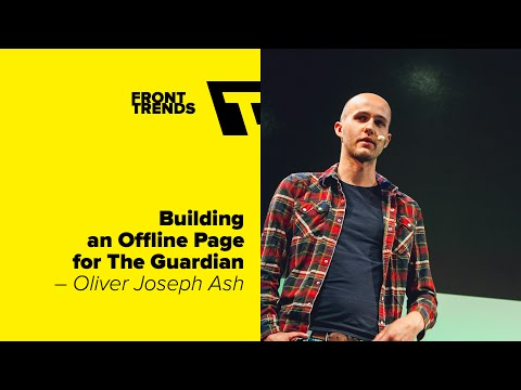 Building an Offline Page for The Guardian