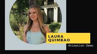 Laura Quimbao -Animation Demo