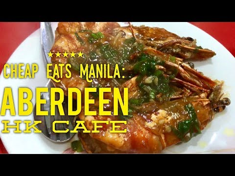 Cheap Eats Manila: Aberdeen Hong Kong Cafe Chinese Restaurant Makati