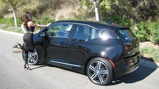 "New 2017 BMW i3 Rex / Around 180 mile range / 20"" Wheels / BMW Review"