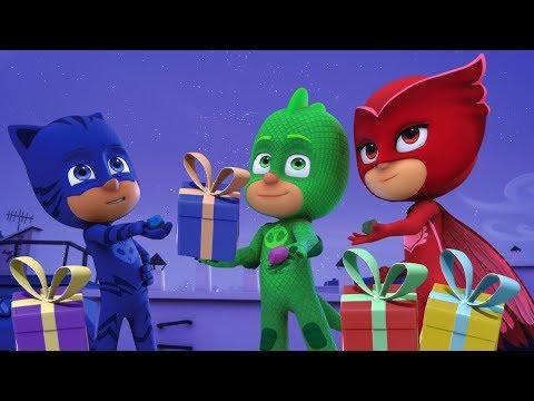 PJ Masks Deutsch Pyjamahelden Gecko rettet Weihnachten   Cartoons für Kinder