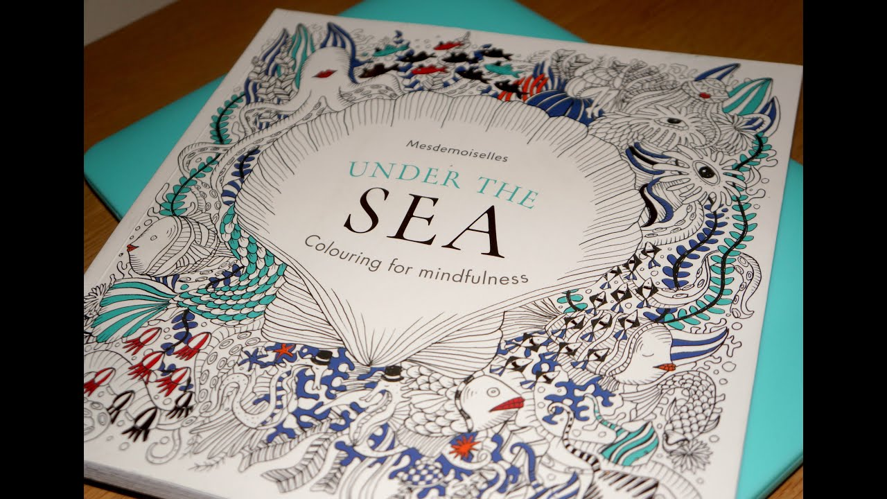 Under The Sea Colouring Book Preview Flipthrough