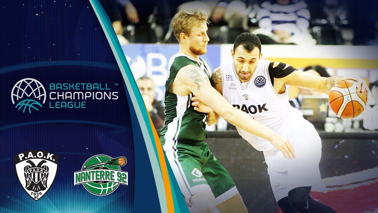 2667ec79d3 PAOK v Nanterre 92 boxscore - Basketball Champions League 2018-19 - 30  October - Basketball Champions League 2018-19