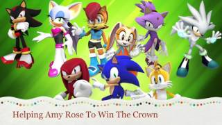 Helping Amy Rose Win The Crown Lyrics added