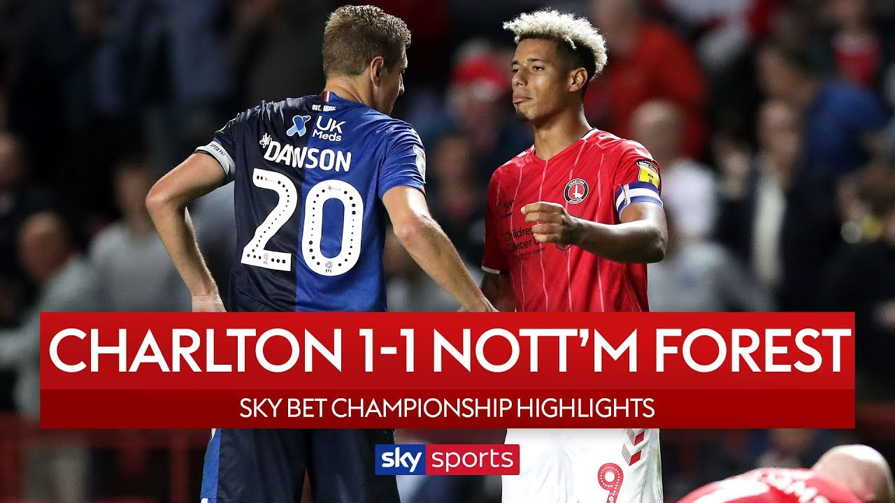 Adomah rescues point for Forest! | Charlton 1-1 Nott'm Forest | Highlights | EFL Championship