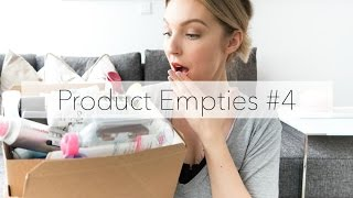 Product Empties #4