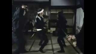 """Ryotaro SUGI"" TATE ""sword battle"" Samurai Ninjya Katana 杉良太郎 殺陣 Cool Fantastic Dender samurai cooljapan."