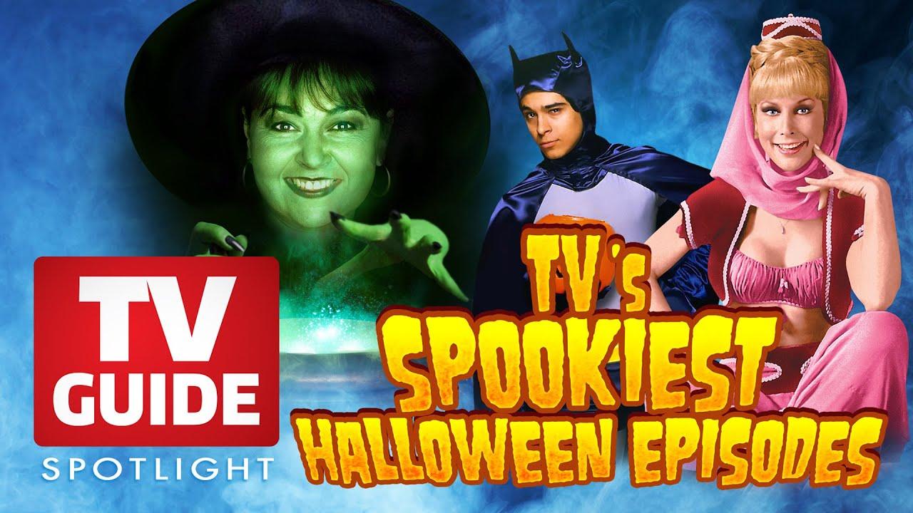 tv guide spotlight - tv's spookiest halloween episodes - youtube