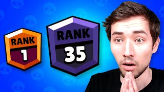 RANG 1 AUF RANG 35 IN 1 VIDEO! (0 - 1250🏆) 😱 Brawl Stars deutsch