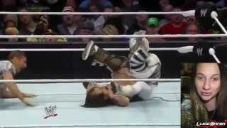 WWE Smackdown April 18, 2014 El Torito vs Hornswoggle Live Commentary
