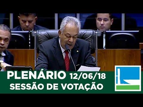 PLENÁRIO - Sessão Deliberativa - 12/06/2018 - 14:00