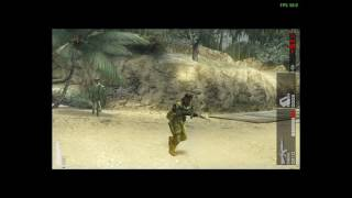 Metal Gear Solid: Peace Walker -PC emulation (60FPS tutorial and Dual Analog Play)