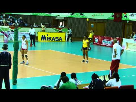Algeria v Mauritius in Pool A of Women's African club championship