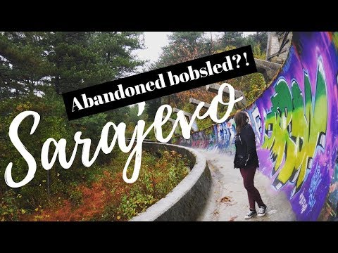 EXPLORING ABANDONED RUINS AND UNIQUE PLACES IN SARAJEVO