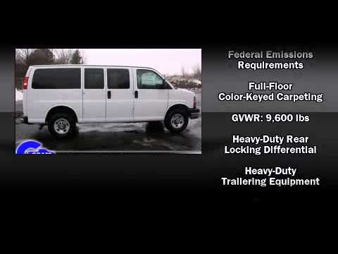 New 2011 Chevrolet Express 3500 - StockID: 6-78632 - Hank Graff Davison, Flint Chevy Dealer