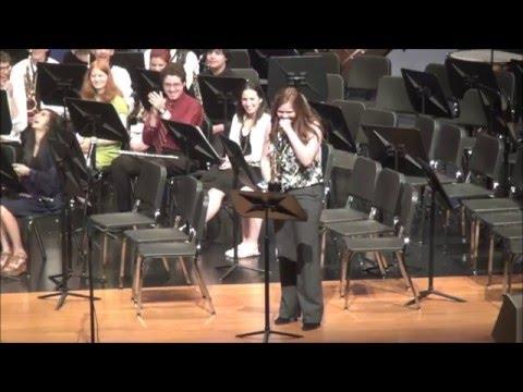 Springboro High School: Wind Ensemble Spring Concert 2016