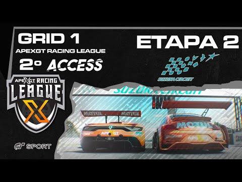 ACCESS 2  GT SPORT -  GRID1 VERDE  - Etapa 2