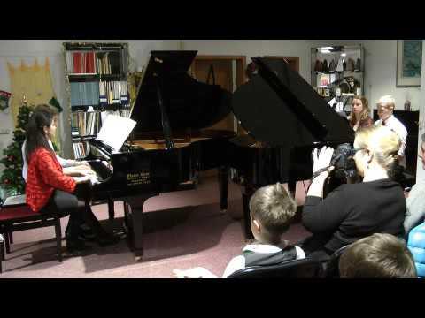 Blumenwalzer aus dem Ballett Nussknacker (8 Hände am Klavier)