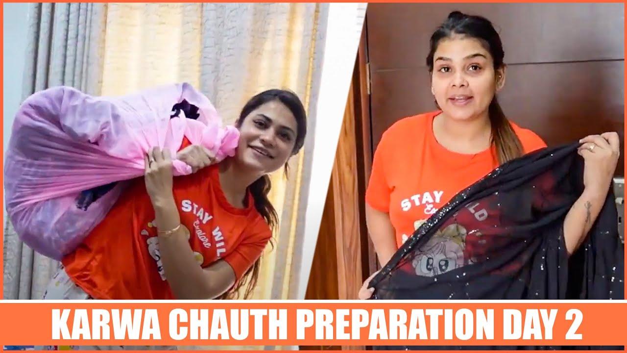 Karwachauth Preparation Day 2