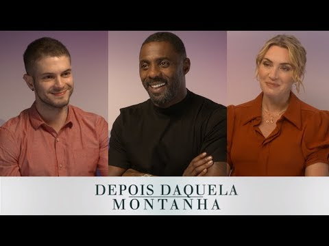 ENTREVISTA: Idris Elba e Kate Winslet (Depois Daquela Montanha)