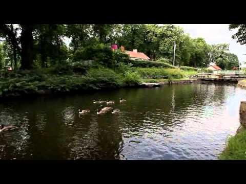 Nykvarnssluss Kinda kanal 30 juni 2012