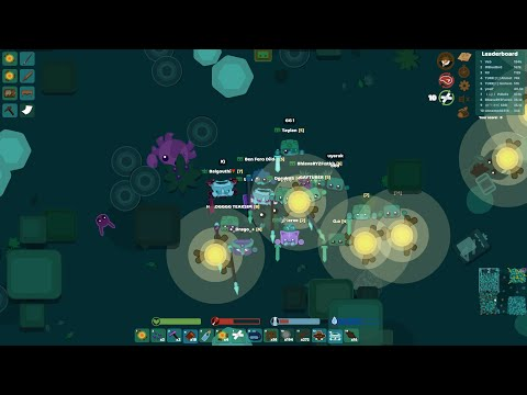 STARVE.IO - EPIC SAVAGE MOMENTS ( Not Attacking Noob Players Attacking Leaderboard )