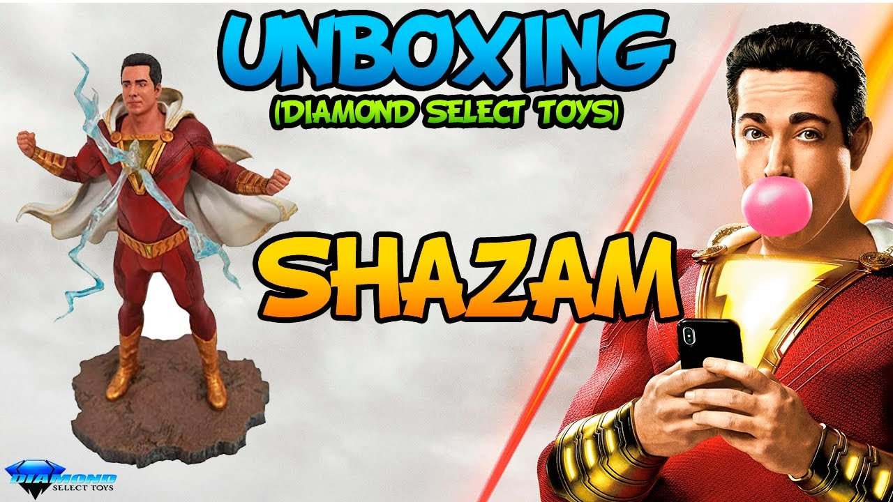 ⚡ SHAZAM (DCeu) Gallery DST Unboxing (Diamond Select Toys)