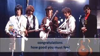 Traveling Wilburys   Congratulations