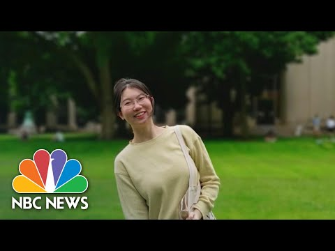Chinese Students Respond To Trump Over Student Visa Cancellations | NBC News NOW