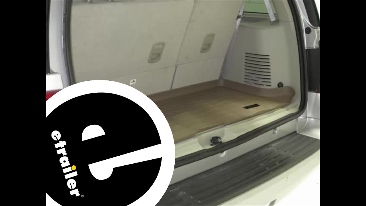 Weathertech floor mats ford explorer - Review Of A Weathertech Cargo Floor Liner On A 2011 Ford Expedition Etrailer Com