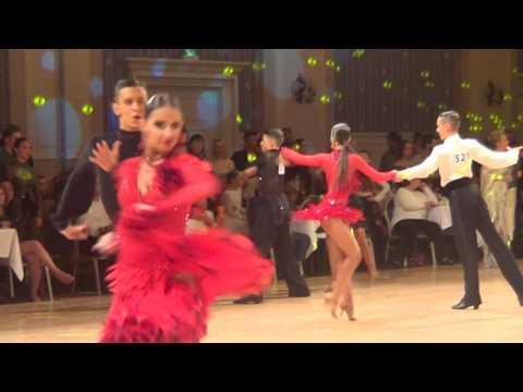 2016 WDC AL Disney  World  Junior U16 1/16 F Latin Samba